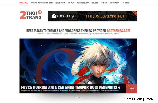 WordPress 免费主题:2THOITRANG
