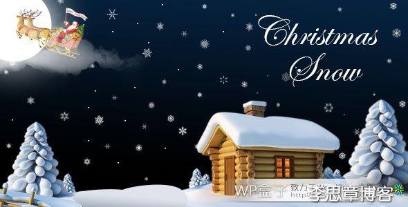 161414cIA Christmas Snow WordPress圣诞节下雪插件 v1.5